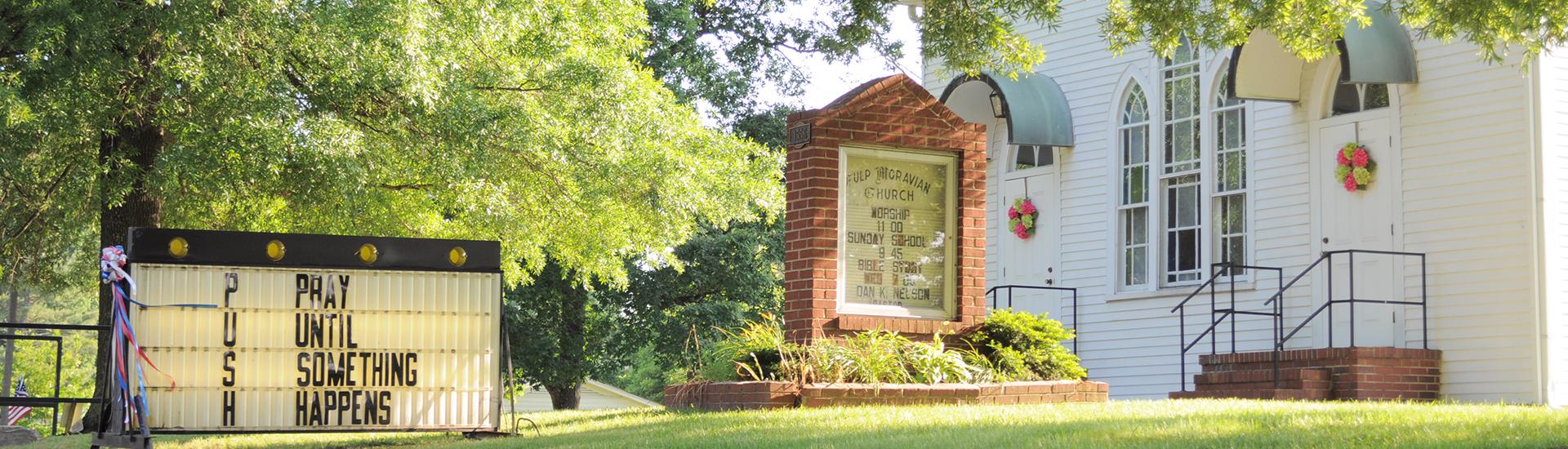 Welcome to Fulp Moravian Church